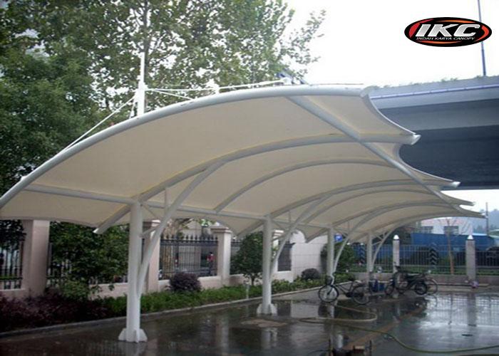 Tenda Membrane dan Canopy Kain
